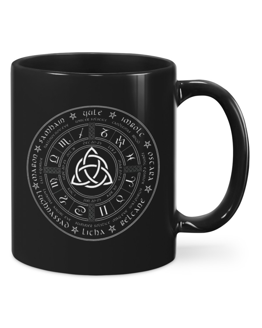 Witch Wheel Of The YearMugs