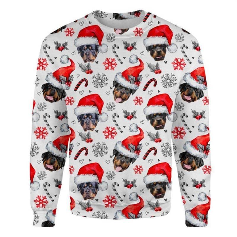 Rottweiler Christmas Premium Sweatshirt