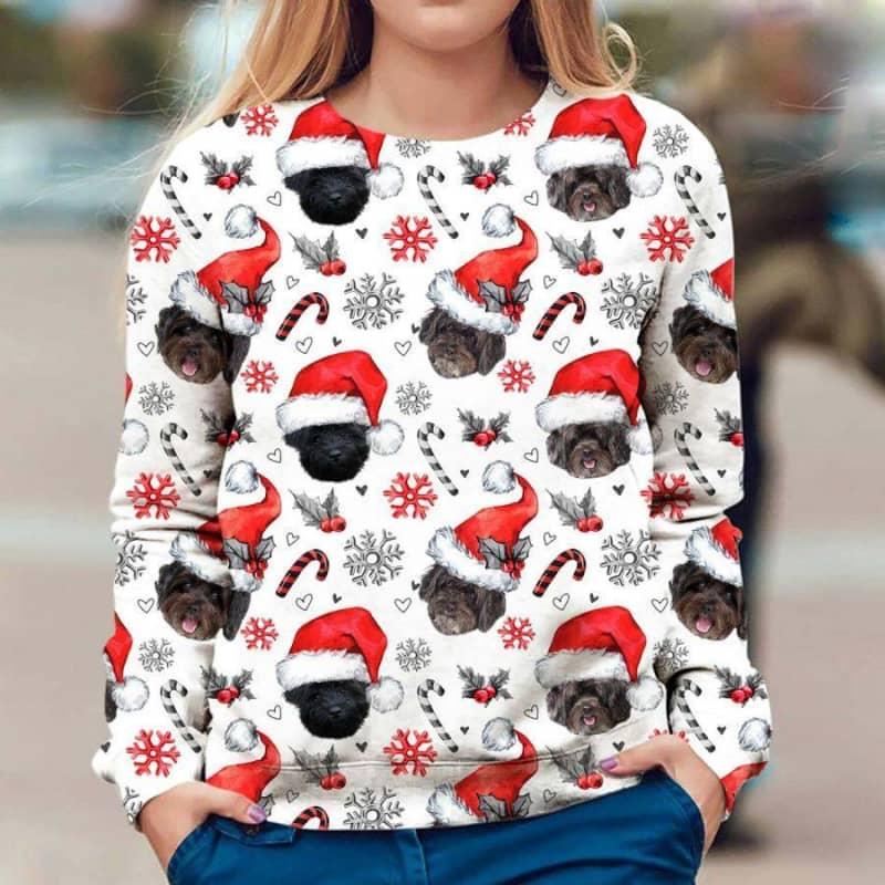 Schnoodle Christmas Premium Sweatshirt