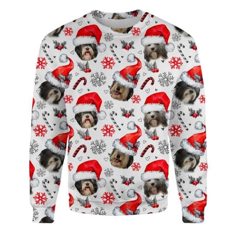 Tibetan Terrier Christmas Premium Sweatshirt