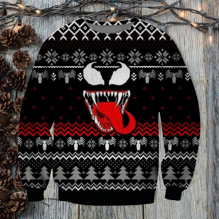 We are Venom Woolen Ugly Sweater Christmas