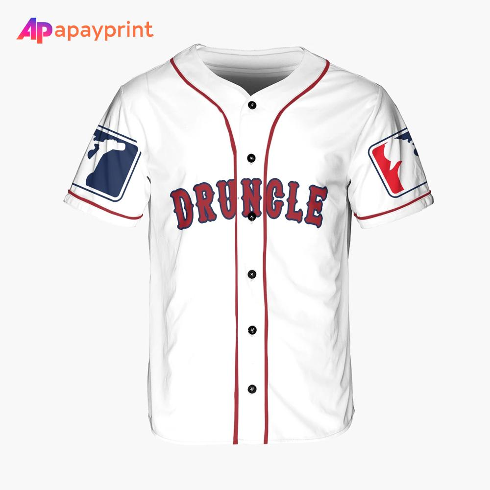 Drungle James I Drink And I Know Things Personalized Baseball Jersey